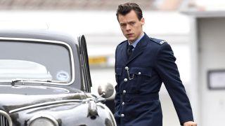 Harry Styles filming My Policeman in Brighton, UK.