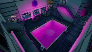 Fortnite Purple Pool at Steamy Stacks