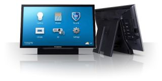 Crestron's V-Panel HD Touch Screen Display