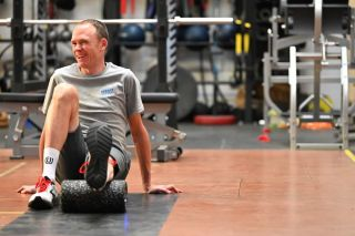 Froome training rehab Santa Monica