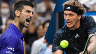 Novak Djokovic vs Alexander Zverev live stream