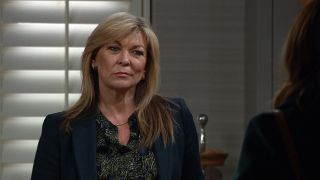 Kim accuses Andrea of being a gold digger in Emmerdale
