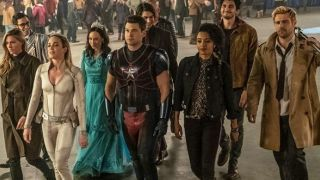 DC's Legends of Tomorrow march into a fight.