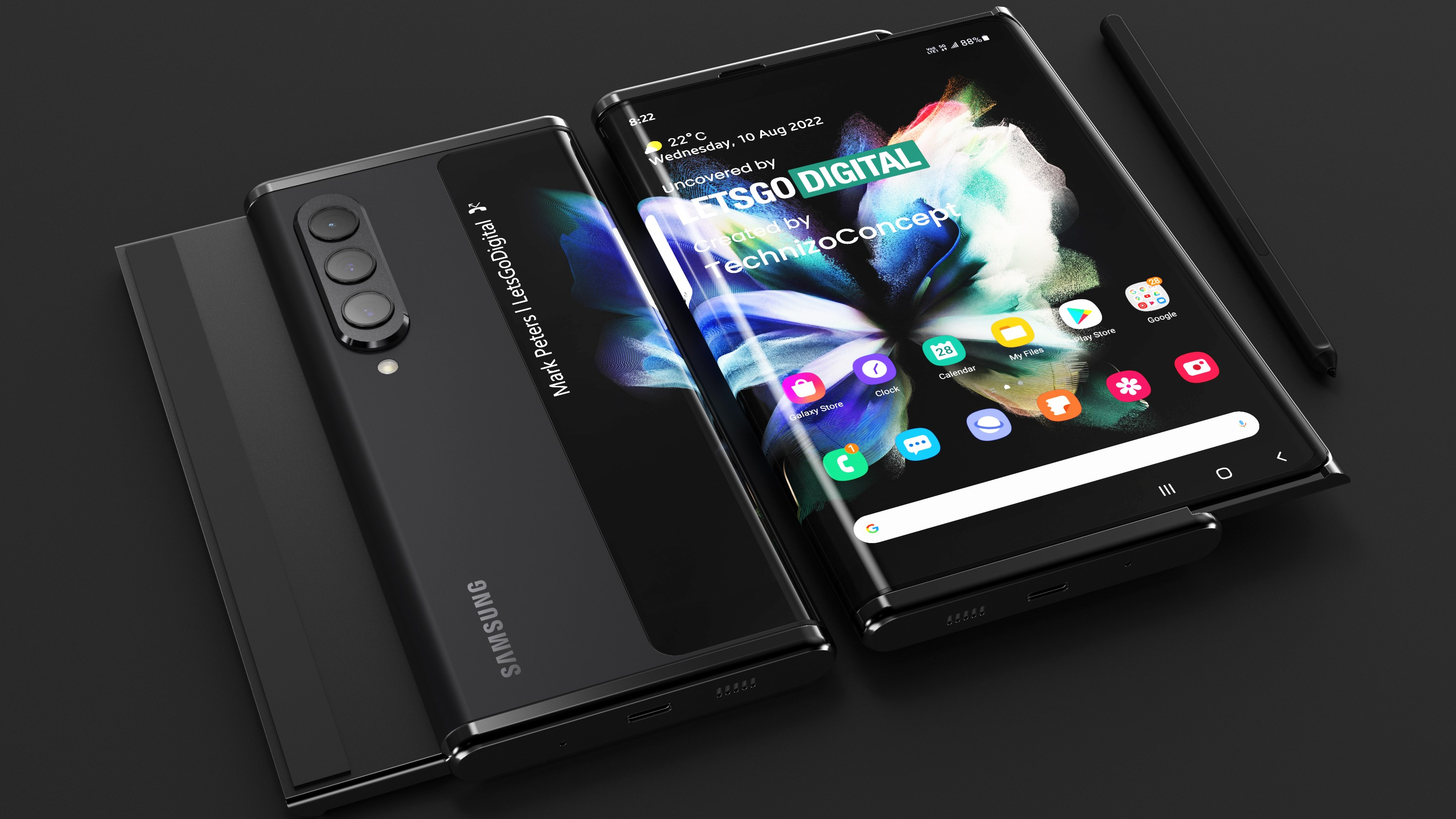 Samsung Rollable Phone