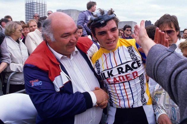 Tony Capper and Joey McLoughlin, 1985 Milk Race