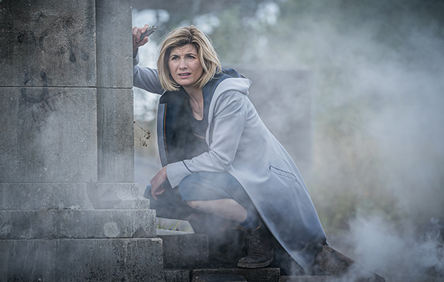 Doctor Who Jodie Whittaker as Time Lord in episode nine