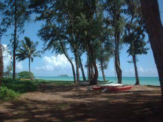 Waimanalo Bay Beach Park, Oahu.