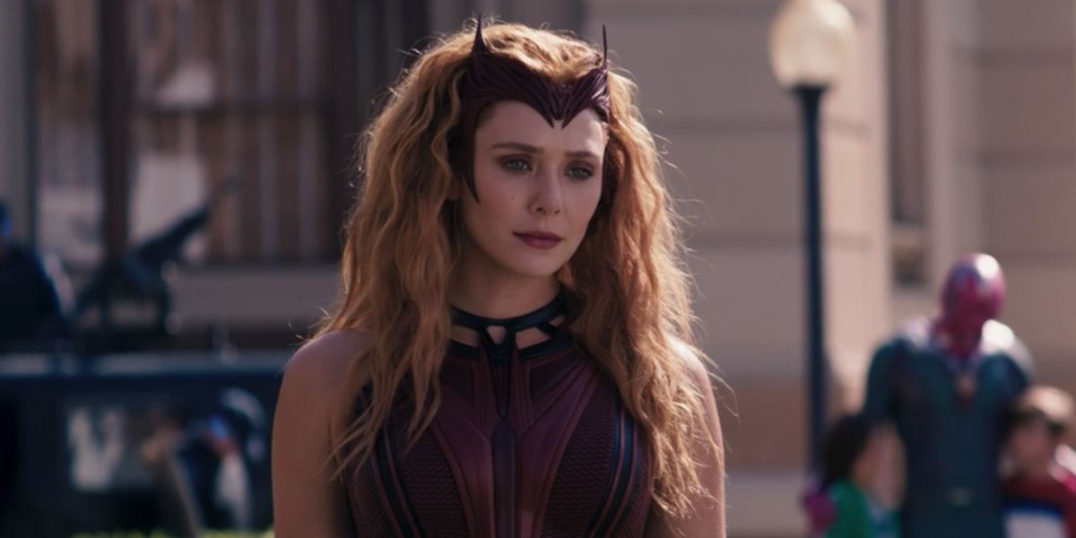 Wanda in the series finale of WandaVision