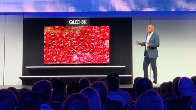 Samsung TV 98 inch CES 2019