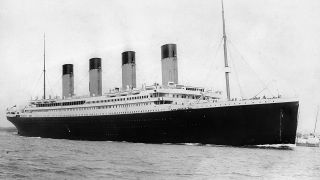 The RMS Titanic departing Southampton on April 10, 1912, four days before the disaster that claimed more than 1,500 lives.