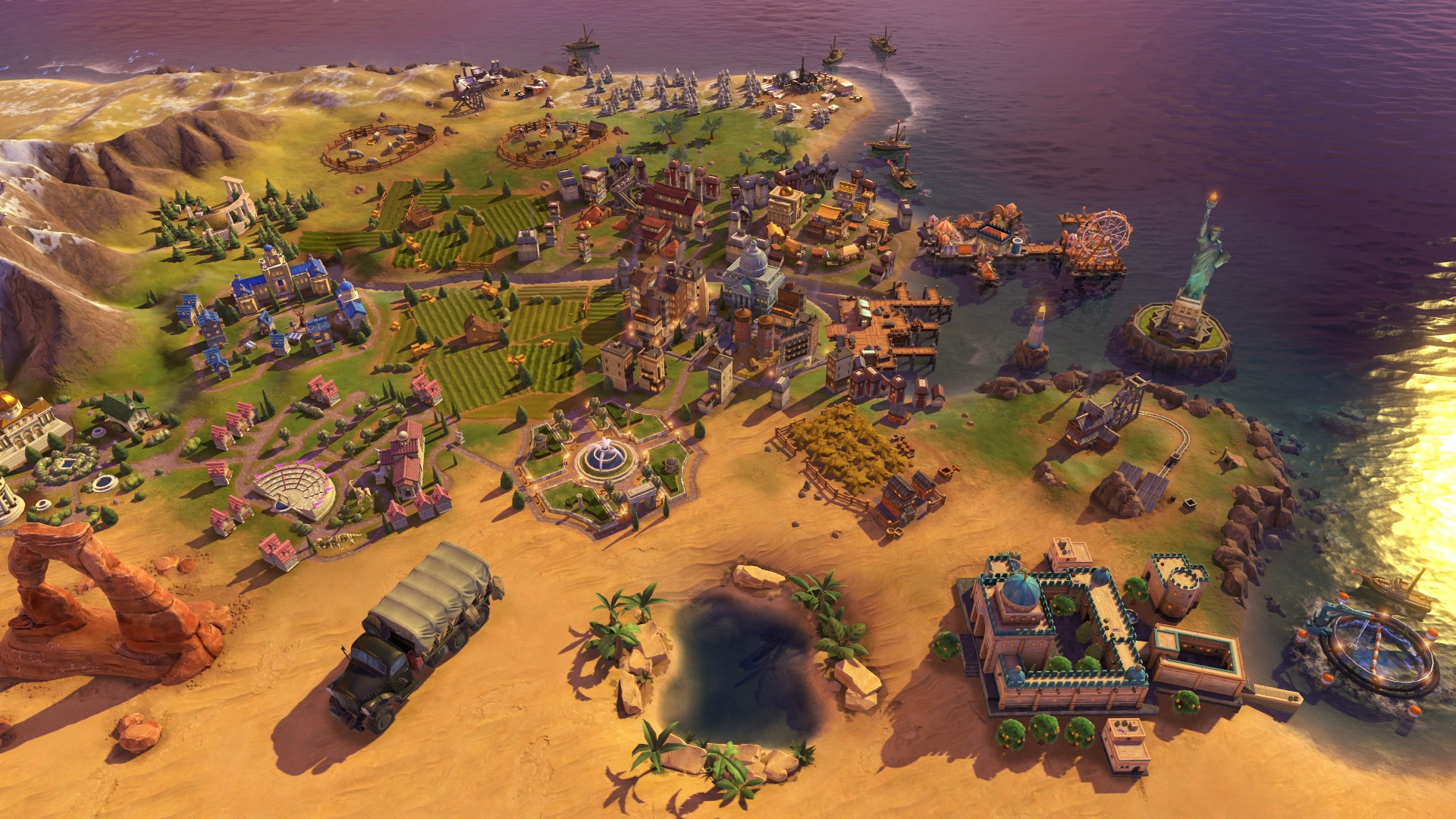 civilization 6 unveils rise and fall expansion release date set