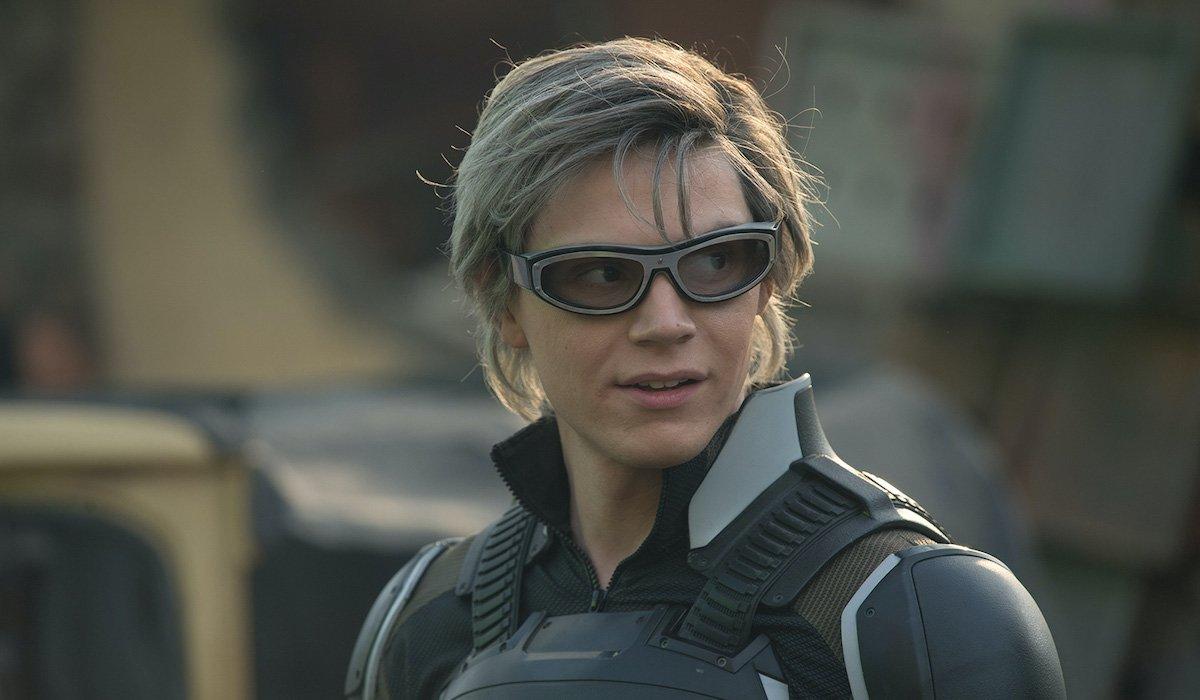 Evan Peters as Quicksilver in X-Men: Apocalypse