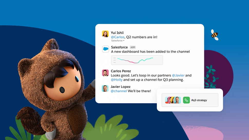 Salesforce wants your company to build a digital HQ on Slack