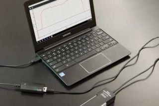 Using Vernier Data Tools on a Chromebook