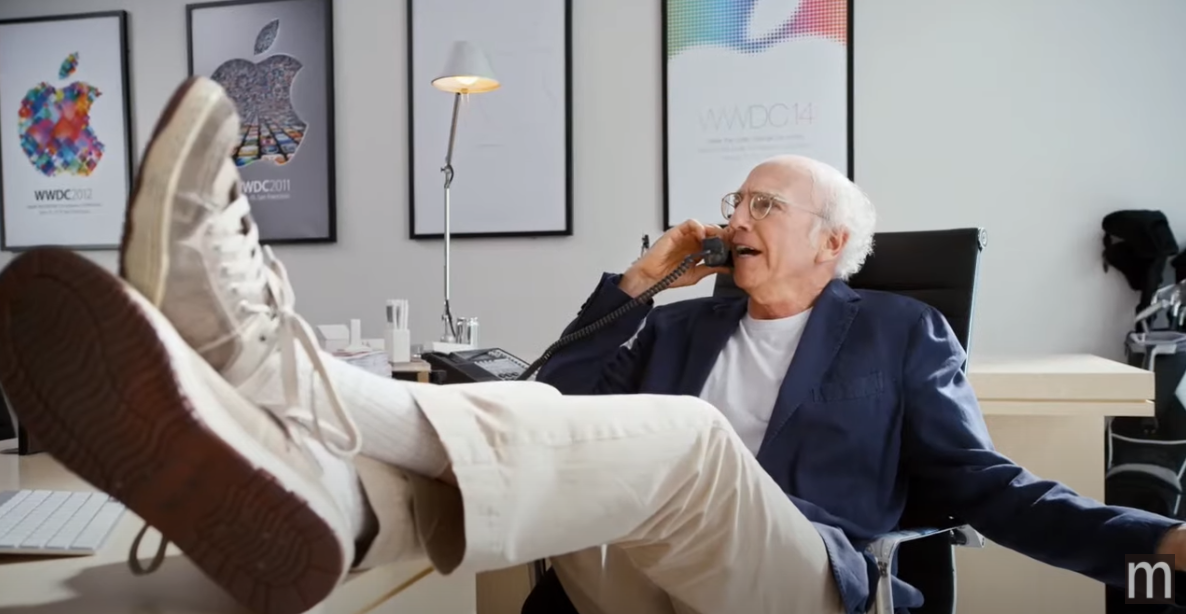 A Curb Your Enthusiasm short too spicy for Apple has leaked