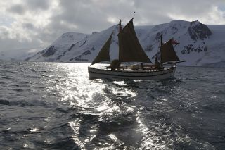 Australian explorer Tim Jarvis and his team followed in the path of legendary explorer Ernest Shackleton, replicating the boat Shackleton sailed for 800 miles through rough seas.