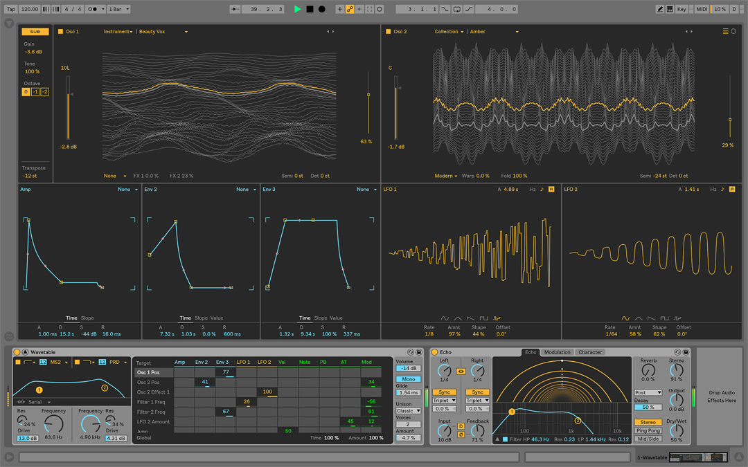 Hands-on with Ableton Live 10's Wavetable synth | MusicRadar