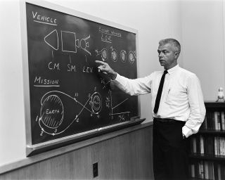 NASA Engineer John Houbolt