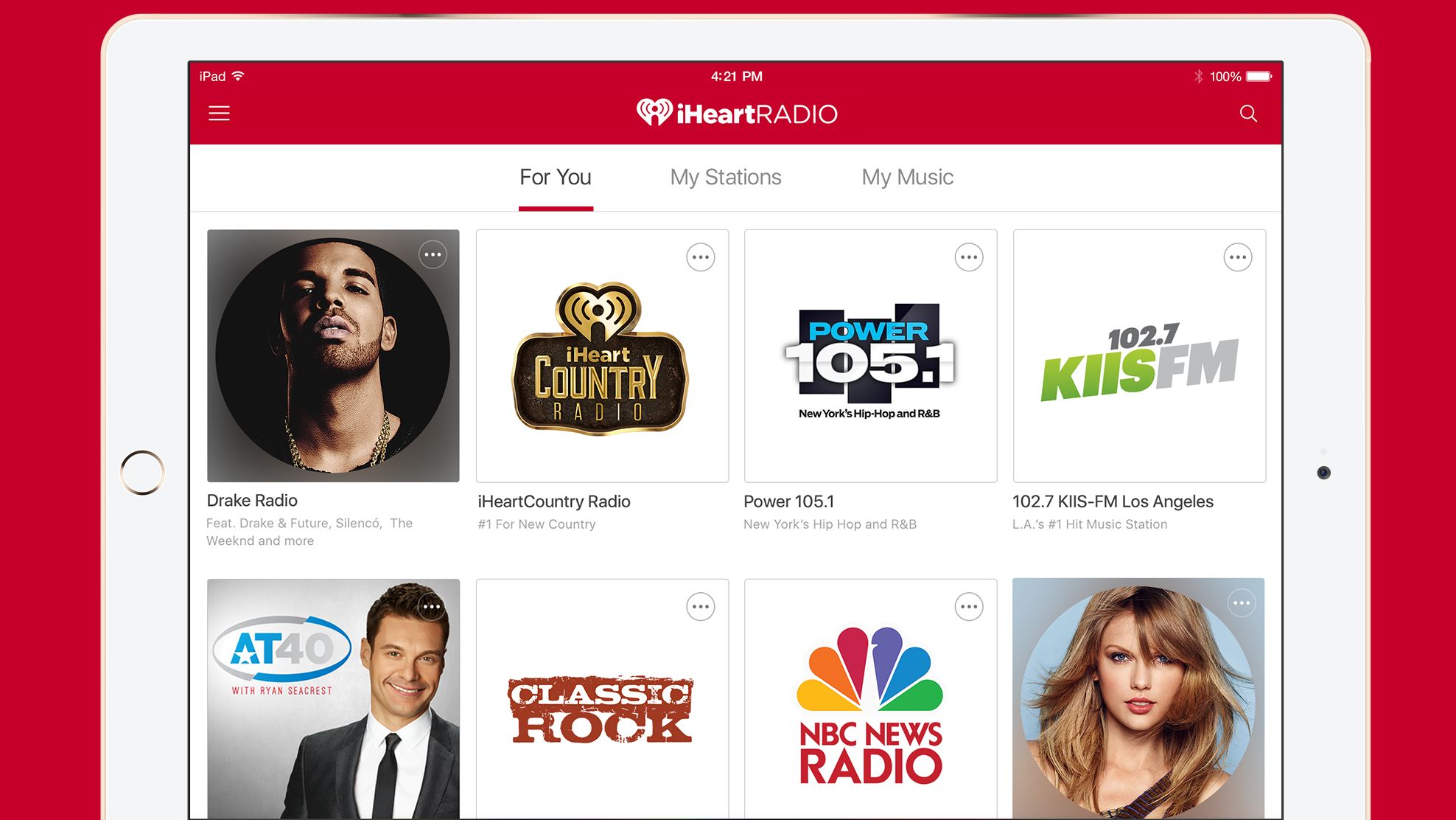 iHeartRadio is opening its curated playlists to all | TechRadar