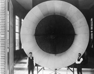space history, NACA, wind tunnels