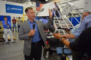 Chris Ferguson Gives CST-100 Tour