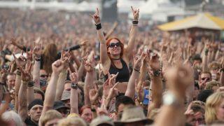 The crowd at Wacken