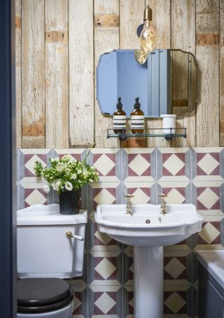 How To Choose Tiles For A Small Bathroom Real Homes