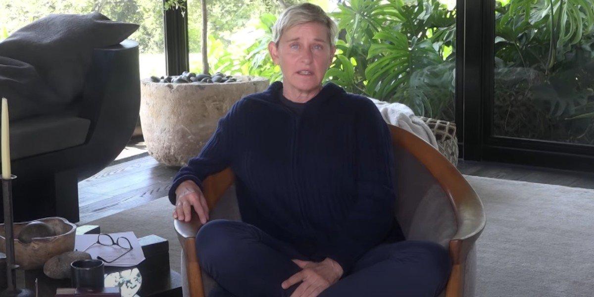 Ellen DeGeneres on The Ellen DeGeneres Show (2020)