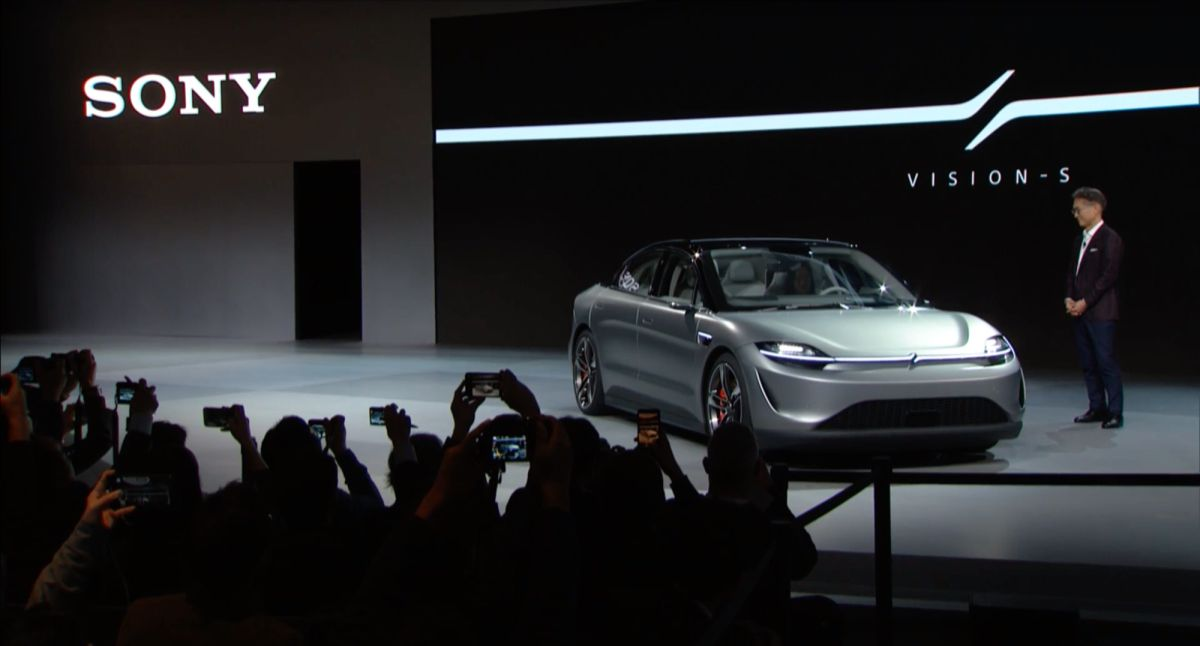 Sony's Vision S electric car is the surprise of CES 2020