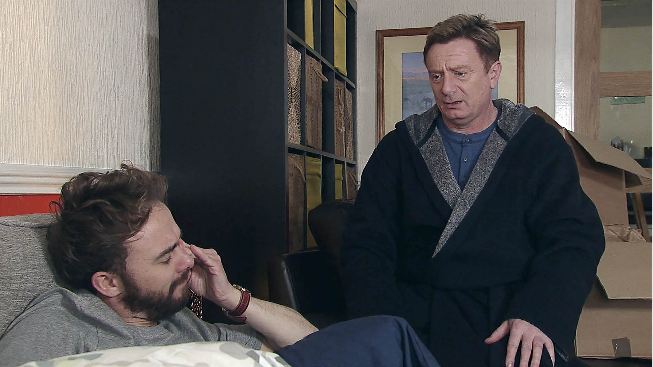Sean Wilson on his return as David's dad, Martin Platt: 'It was like waking up from a coma!'