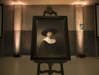 Computer-Generated Rembrandt Painting
