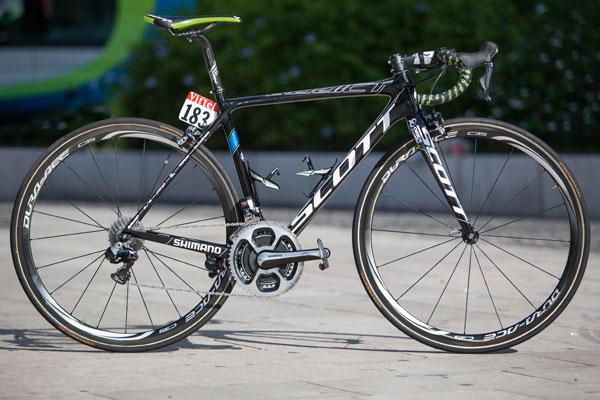 Tour De France Bike Simon Clarke S Scott Addict Cycling