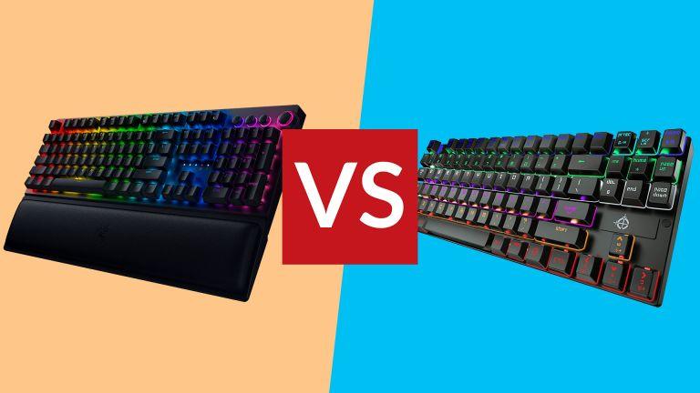 STOGA Mechanical Gaming Keyboard vs Razer Blackwidow V3 Pro