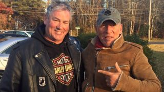 Dan Barkalow with Bruce Springsteen