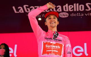 Giro d'Italia 2020 - 103th Edition - 20th stage Alba - Sestriere 198km - 24/10/2020 - Jai Hindley (AUS - Team Sunweb) - photo Dario Belingheri/BettiniPhoto©2020