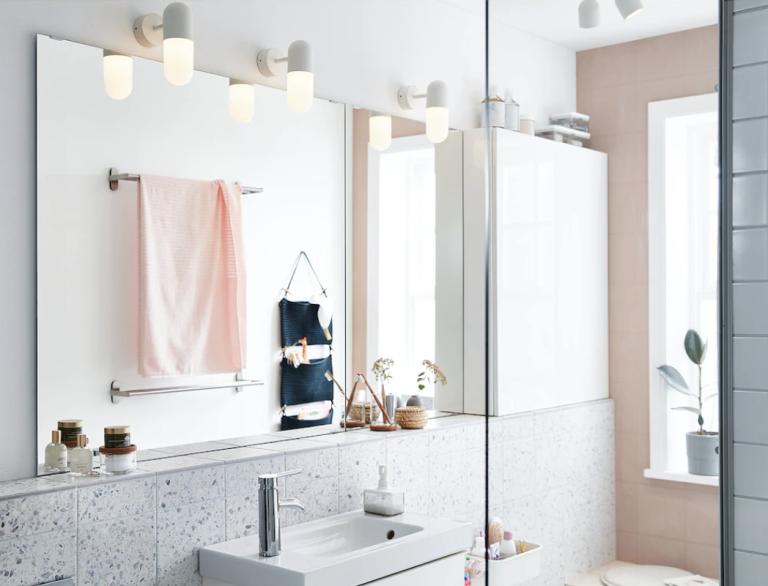These Ikea Bathroom Lighting Ideas Make A Small E Feel