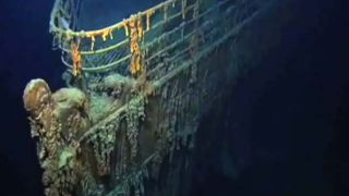 """Scientists return to the underwater grave of RMS Titanic – which sank in 1912 – to study """"rusticle"""" organisms that recycle metals back into Earth's environment. The famous shipwreck has become an important underwater environmental laboratory."""