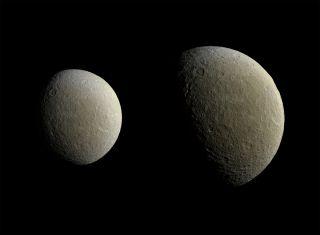 Saturn's Moon Rhea in March 2015