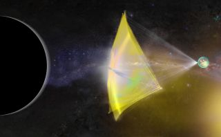 "Physicist Edward Witten proposed using a fleet of laser-launched probes, like Breakthrough Starshot, to hunt the mysteries gravity source known as ""Planet 9."""