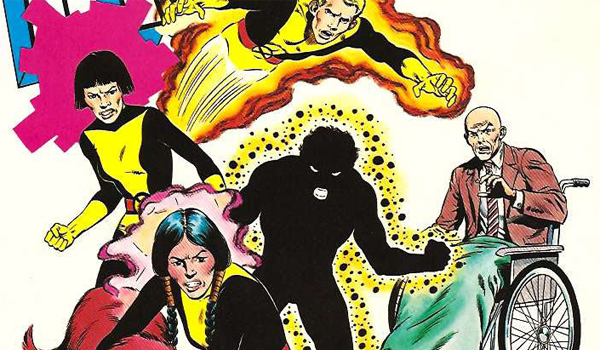 New Mutants Comic Book Cover Issue # 1