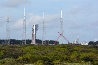 SpaceX launch pads