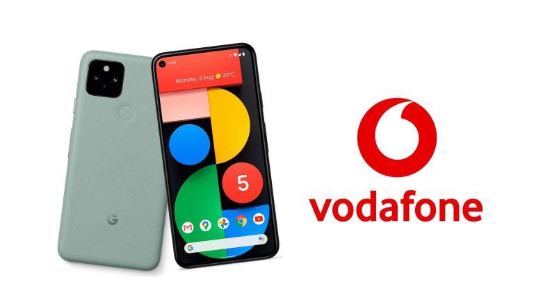 Google Pixel 5 Vodafone phone deals