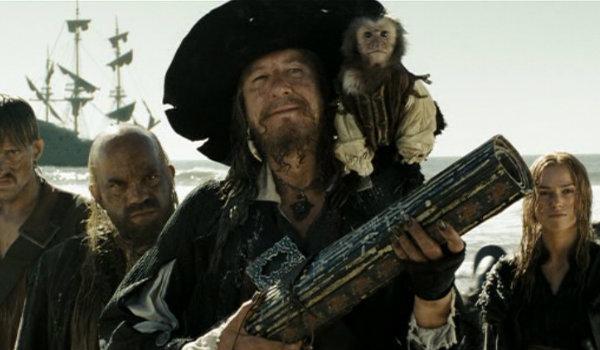 Barbossa Jack the Monkey