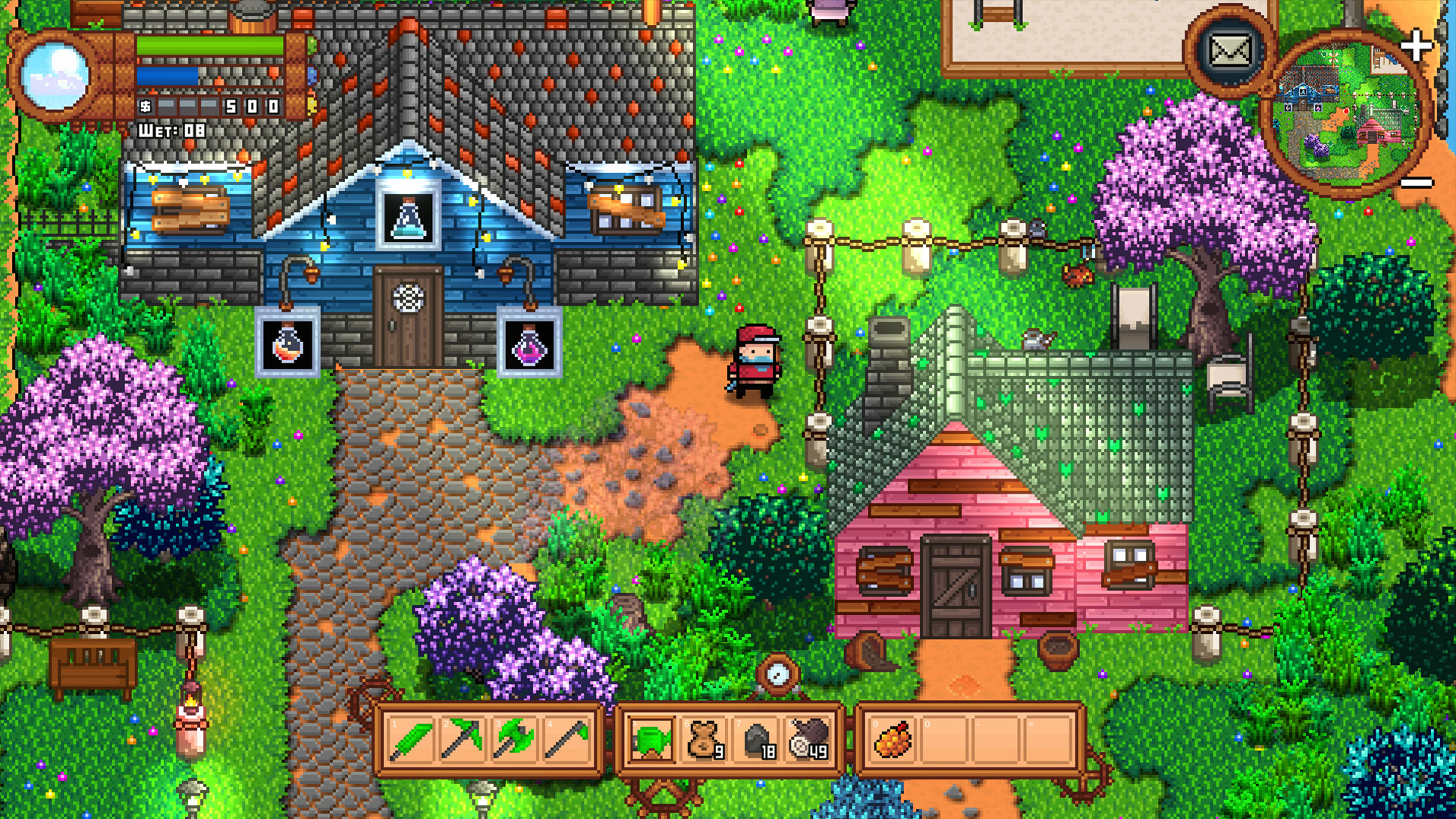 Monster Harvest Gathers The Best Bits Of Stardew Valley And Ooblets Gamesradar This couple also had a daughter, clara, but she died twelve years ago. monster harvest gathers the best bits