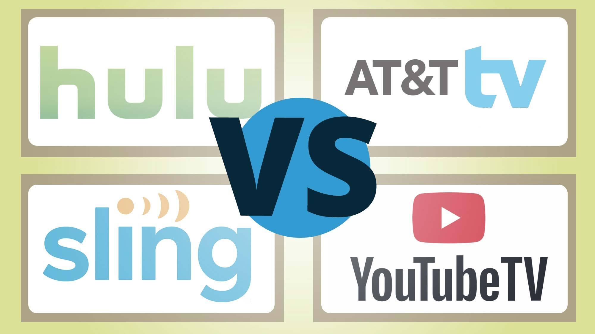 Hulu Live Vs Youtube Tv Vs Sling Vs At T Tv Face Off Tom S Guide