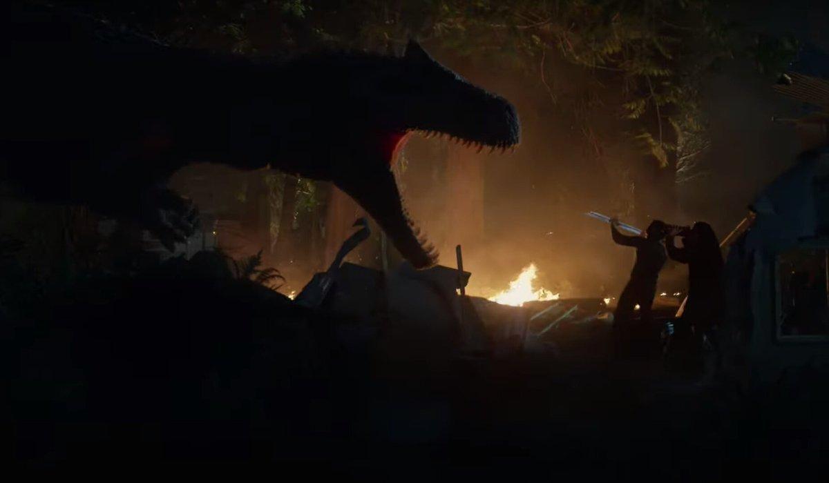 Battle At Big Rock humans versus Allosaurus