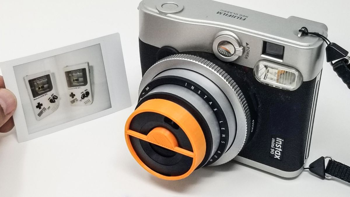 Clone yourself! Brilliant Instax Mini 90 kit can create split double exposures