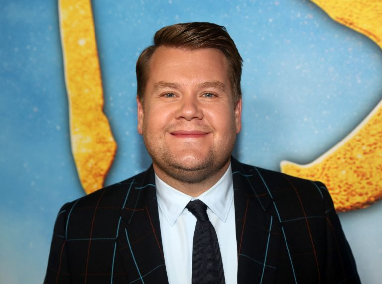 james corden at premiere of cats