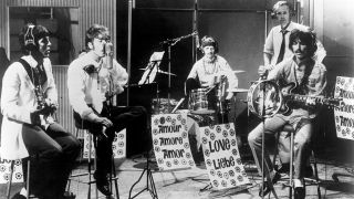 The Beatles rehearse All You Need Is Love