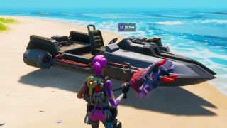 Fortnite motorboat